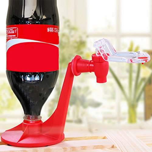 Inverted Drinking Fountains Coca-Cola Creative Home Bar Pouring Mini Carbonated Water Machine Dispenser