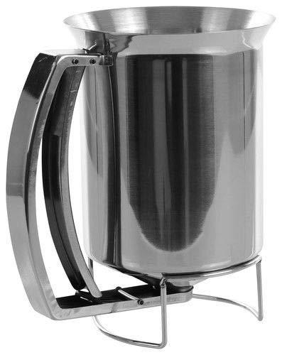 Mix Dispenser - Pancake Dispenser - Pancake Batter Dispenser Stainless Steel Kitchen Batter Dispenser - Cupcake Batter Dispenser - Waffle Batter Dispenser
