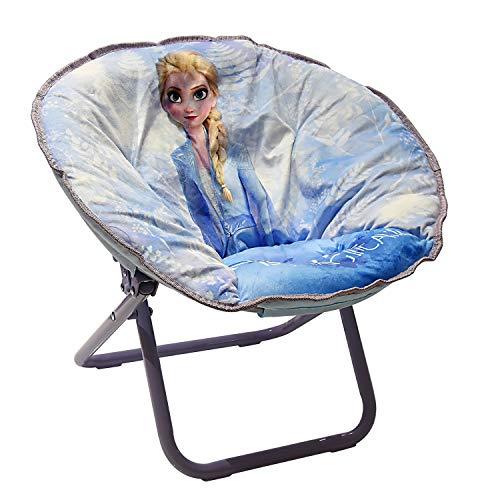 Disney Frozen 2 Elsa Saucer Chair White