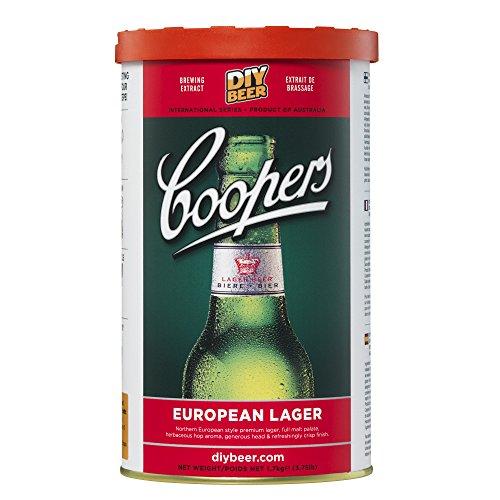Coopers DIY Beer European Lager Homebrewing Craft Beer Brewing Extract