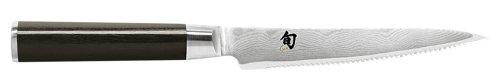 Shun DM0722 Classic 6-Inch Serrated Utility Knife