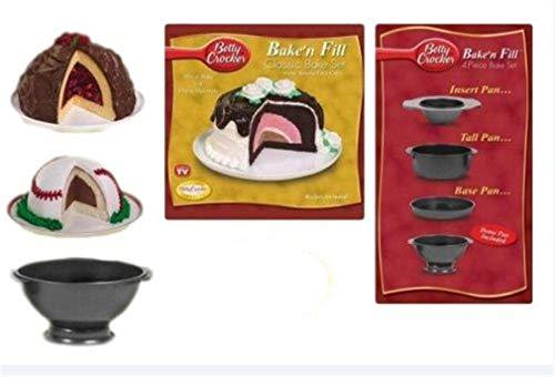 Betty Crocker Baken Fill 4 Piece Bake Set