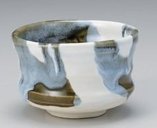 Matcha bowl Japanese tea cup for tea ceremony Mino porcelain Chawan 39