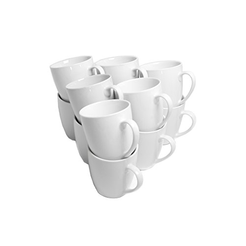 10 Strawberry Street Catering Set 10-Ounce Mug Set of 12