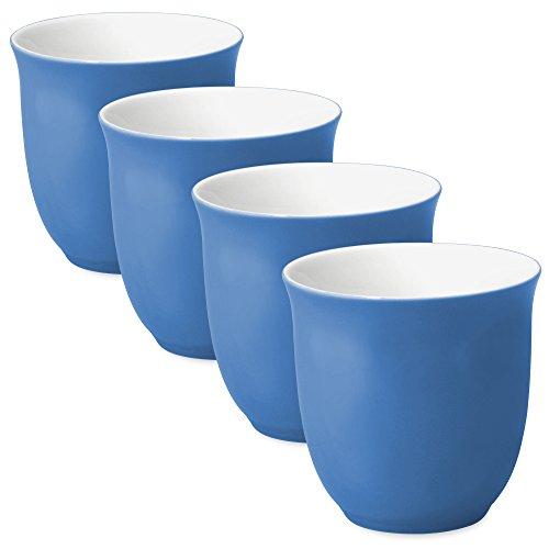 FORLIFE Japanese Teacup Set of 4 65 oz Blue