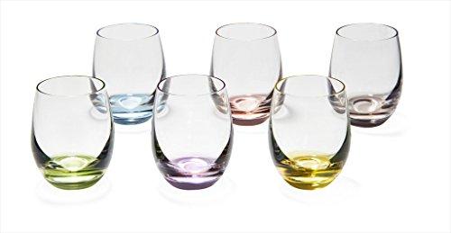 Rainbow Cordial Shot Glasses