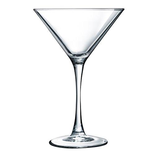 Luminarc ARC International Atlas Martini Glass Set of 4 75 oz Clear
