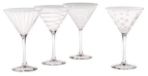 Mikasa Cheers Martini Glass 10-Ounce Set of 4