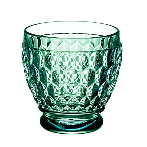 Villeroy Boch Boston Green Crystal Shot Glass Set of 4
