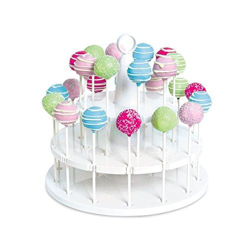 Bakelicious 73861 Cake Pop Stand 24-Piece White