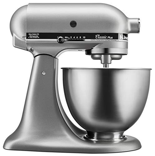 KitchenAid KSM75SL Classic Plus 45-Qt Tilt-Head Stand Mixer Silver