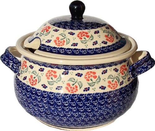 Polish Pottery Soup Tureen from Zaklady Ceramiczne Boleslawiec 1004-963 Classic Pattern 134 Cups