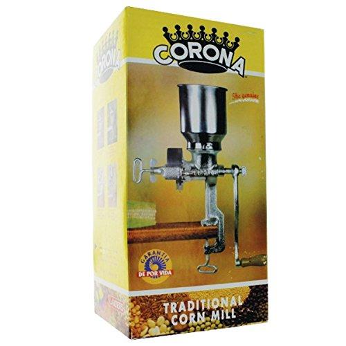 Corona Corn Grain Mill with High Hopper