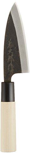 Tojiro Shirogami Steel Mini Light Deba Horse Mackerel Off Knife 105mm F-897