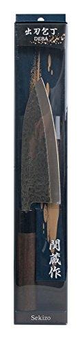 Tsuchime Handhamered Deba Knife Right Hand Use
