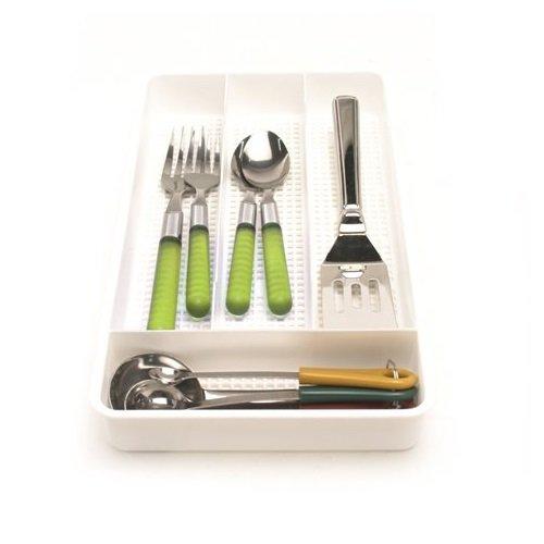 Cutlery Tray - Single White 1 12H x 12L x 7W 1 A