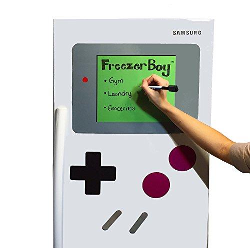 FreezerBoy Refrigerator Magnets Dry-Erase Whiteboard Set