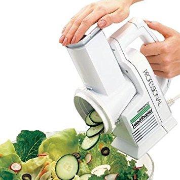 Presto Professional SaladShooter Electric SlicerShredder White