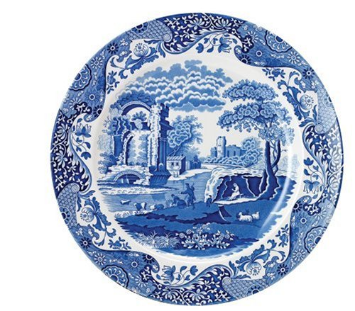 Spode Blue Italian Luncheon Plate 9 inches