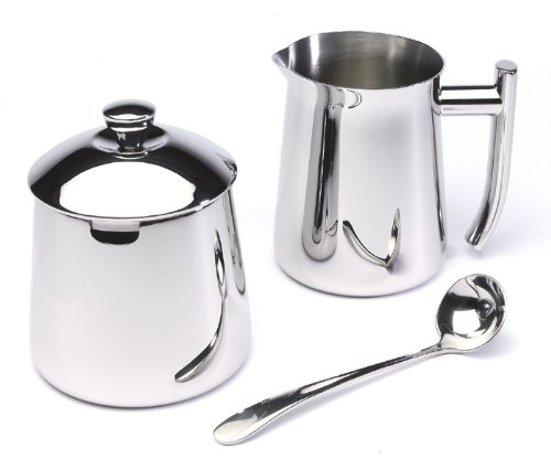 Frieling USA 1810 Stainless Steel Creamer and Sugar Bowl Set