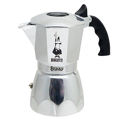 Bialetti 06835 Brikka Stovetop Espresso Maker 4-Cup
