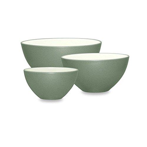 Noritake Colorwave 3-Piece Mixing Bowl Set in Green