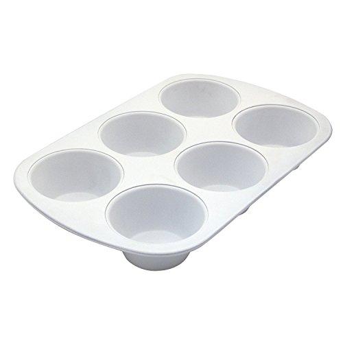 """Range Kleen BC6010 CeramaBake 6-Cup Jumbo Muffin Pan 134"""" L x 87"""" W x 15"""" H"""