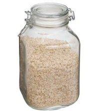 Case of 6 Bormioli Rocco Fido Glass Canning Jar Italian - 2 Liter