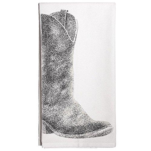 Montgomery Street Boot Cotton Flour Sack Dish Towel