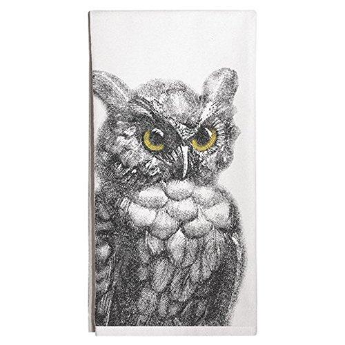 Montgomery Street Owl Cotton Flour Sack Dish Towel