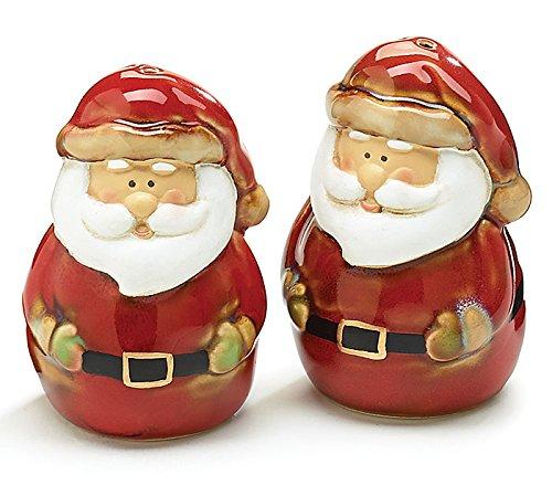 Antique Santa Claus Porcelain Salt Pepper Shaker Set