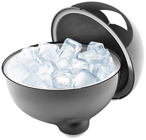 LaBoul IceBoul Insulated Ice Bucket Chrome