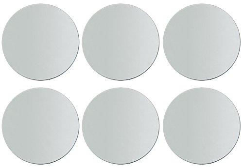 6-PACK - Darice 1635-70 Round Mirror 10-Inch