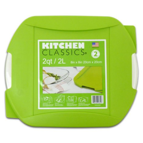 Kitchen Classics 8 X 8 in Square Bake Dish with Lid