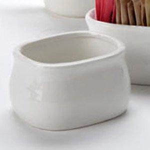 American Metalcraft PSPH3 Sugar Packet Holder Porcelain 1-78 H 2-12 W 3-14 L