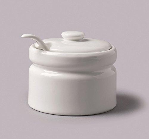 CKS Porcelain SugarJam Pot