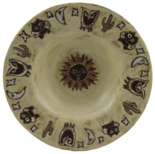 Mara Ceramic Stoneware 12 Inch Desert Scene Pasta Bowl