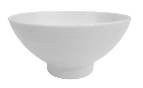 CAC China SHA-44 Sushia 4-38-Inch Super White Porcelain Rice Bowl Box of 36