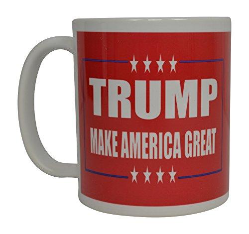 Donald Trump Coffee Mug Make America Great Trump 2020 Novelty Cup President of The United States MAGA MAGA