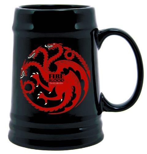 Dark Horse Deluxe Game of Thrones Ceramic Stein Targaryen Sigil