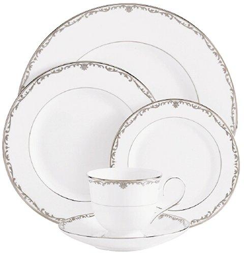 Lenox Coronet Platinum Bone China Dinner Plate