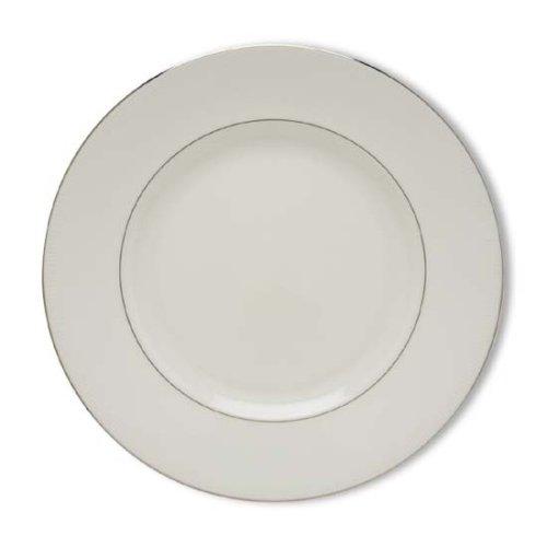 Lenox Tribeca Platinum Banded Bone China Dinner Plate
