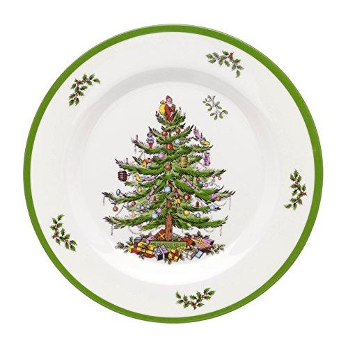 Spode Christmas Tree Melamine Salad Plate Set of 4