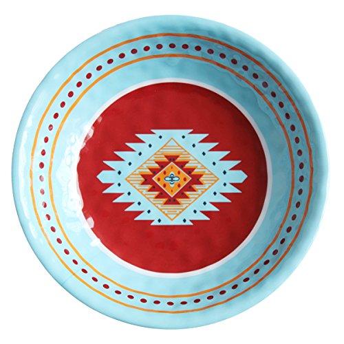 HiEnd Accents DI5002SB01 1 Piece Southwest Melamine Serving Bowl 1375
