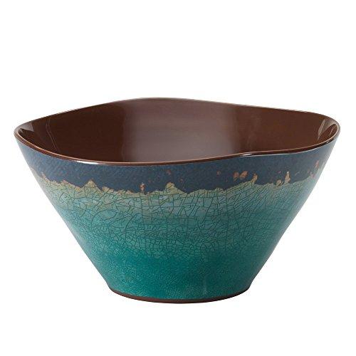 Merritt Natural Elements 10 Melamine Serving Bowl Turquoise