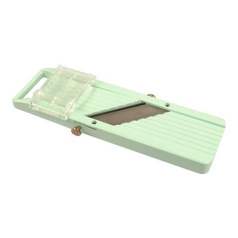 Winco MDL-5P Japanese Mandoline Slicer Set Fruit and Vegetable Mandoline Cutter with Attachment Blades