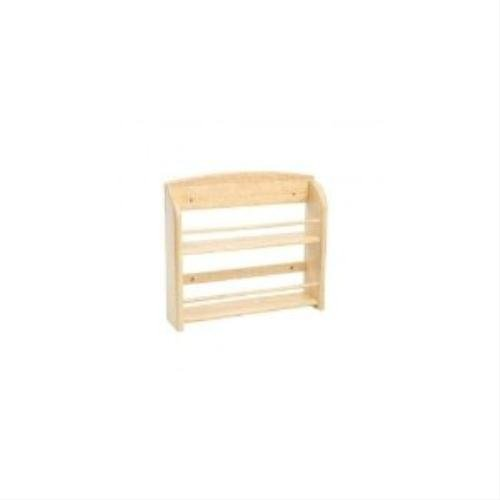 Wooden Spice Rack Without Jars