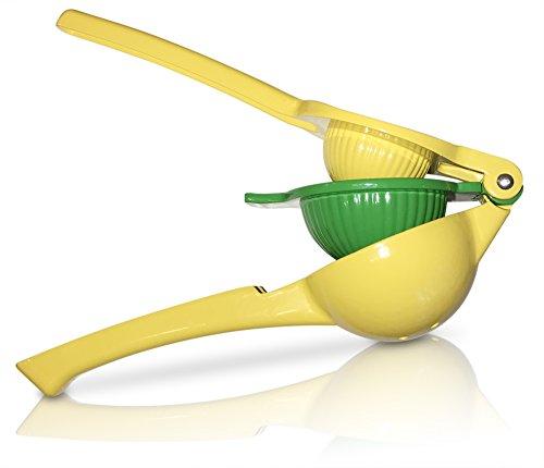 Artz Kitchen Premium Quality Metal Citrus Squeeze Juicer - Manual Lemon and Lime Press