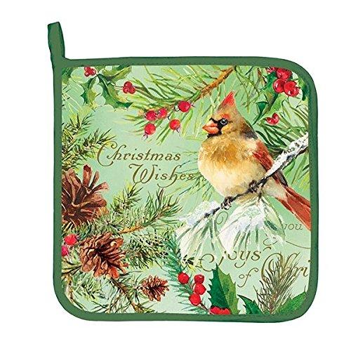 Michel Design Works APH293 Decorative Cotton Potholder Christmas Pine