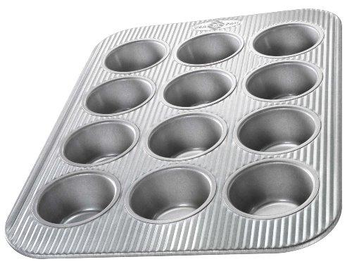 Usa Pan Bakeware Aluminized Steel 12 Cup Cupcake/muffin Pan